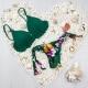 Bikini Malva Verde