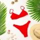 Bikini Jalousie Vermelho