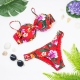Bikini Tropical Vermelho