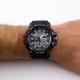 Relógio Digital e Analógico Araponga