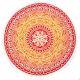 Mandala Hindú Vermelho / Laranja
