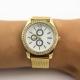 Relógio Eloá dourado