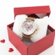Relógio Love Rose Gold