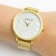 Relógio Amo-te Dourado