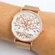 Relógio Arvore Rosa