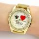 Relógio Mãe Dourado